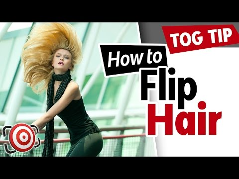 How to shoot a model doing a Hair Flip - Fashion Photography Tip