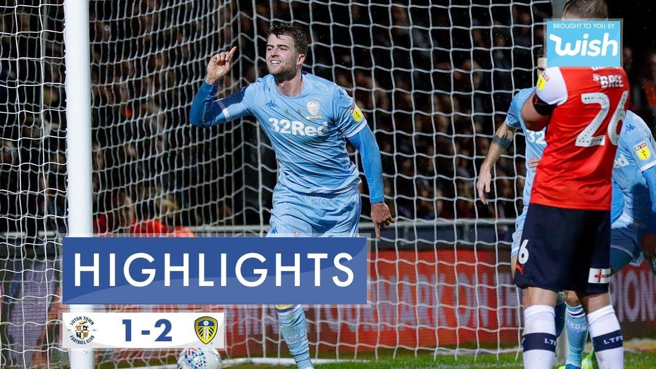 Highlights   Luton Town 1-2 Leeds United   2019/20 EFL Championship