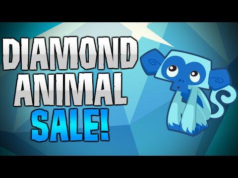ANIMAL JAM DIAMOND ANIMAL SALE!