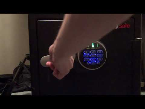 How to Open a Sentry Electronic without the Combination or if it Malfunctions
