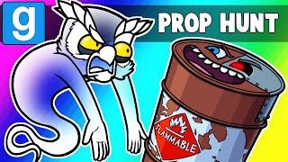 Gmod Prop Hunt Funny Moments - Terroriser Troll Barrel! (Garry