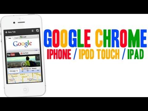 GOOGLE CHROME PARA IPHONE IPOD TOUCH & IPAD