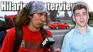 Funniest TV Interviews Caught On Tape