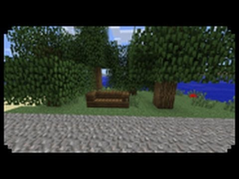 ✔ Minecraft: How to make a bench