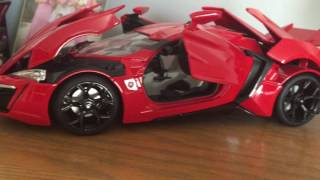 1/18 Fast and Furious Die Cast - Upgrade Garage