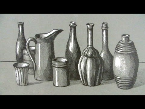 How to Draw a Still Life: Bottles and Jugs