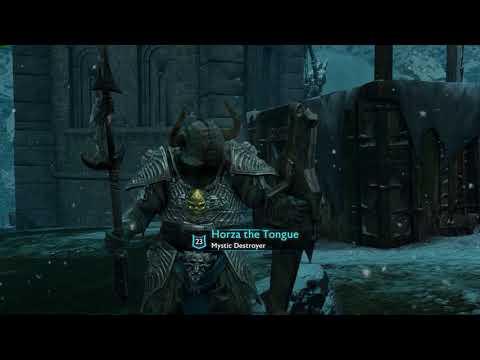 Middle Earth  Shadow of War Fast Warchief Betrayal