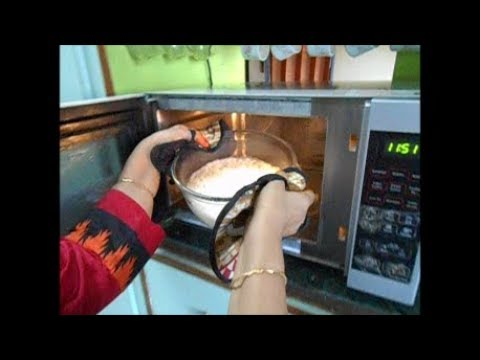 Cooking Basmati rice in Microwave oven