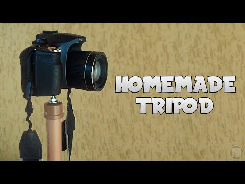 How to make a camera support (Tripod)