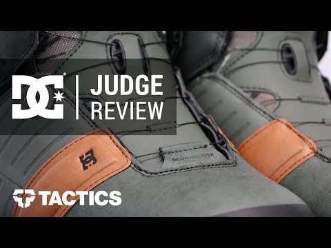 DC Judge 2018 Snowboard Boot Review - Tactics.com