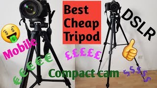 Cheap and Best Budget Tripod. Unboxing and Review