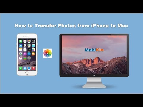 How to Transfer Photos & Albums from iPhone/iPad to Mac Easily - Export Pictures Quick