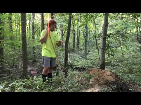 Backyard MTB Trail Clean Up Ep. 1