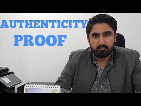 AUTHENTICITY PROOF OF FASI DUBAI DUBAI !!!