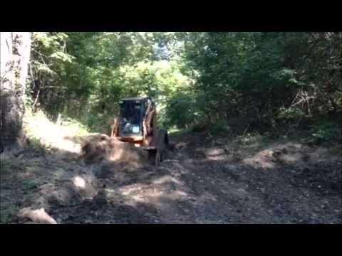 Making of boat ramp and cleaning of creek crossing