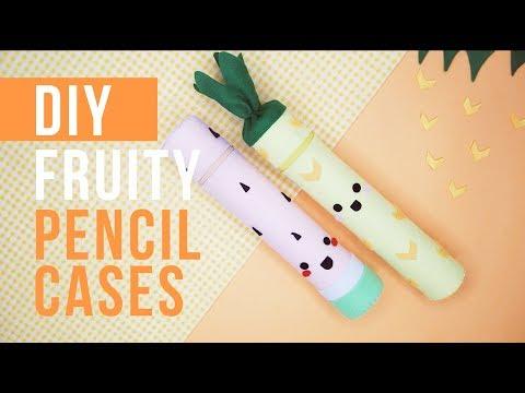 BACK TO SCHOOL DIY project !!! CUTE & EASY pencil cases !!!