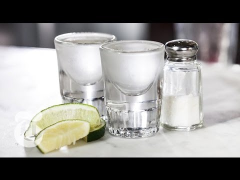 Chilled Tequila Shots With Lime and Salt | Summer Drinks | The New York Times