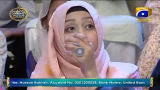 Geo Ramzan Iftar Transmission - Jazba e Khidmat - 22 May 2019 - Ehsaas Ramzan