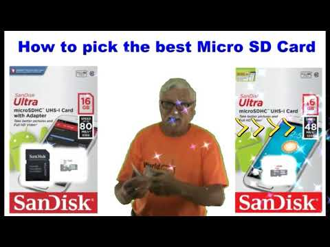 What is the best Micro SD Card for my camera for making movies and videos