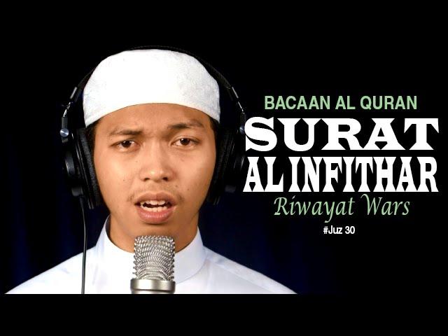 Video Murottal Al-Qur'an Surat 82 Al Infithar (Riwayat Warsy) - Ustadz Abdurrahim - Yufid.TV