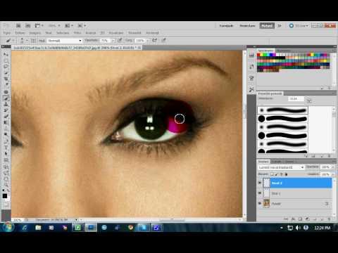 Photoshop CS5 change color  schimbi culoarea