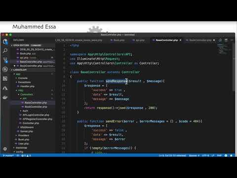 13  Laravel API with  JWT and CRUD