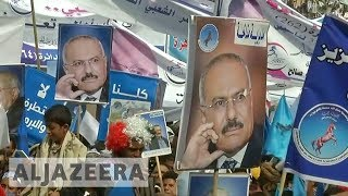 Houthis: Saleh was