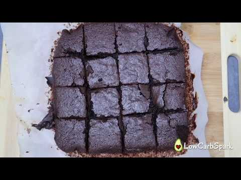 Best fudgy keto brownies recipe with almond flour -  Only 2g carbs