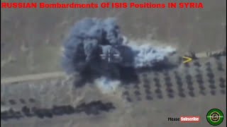 RUSSIAN COST EFFECTIVE  AIRSTRIKES, Bombardments Of ISIS Positions IN SYRIA |Tu-22M3|su25|su23|su34