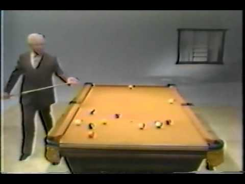 Willie Mosconi straight pool break shots(1980)