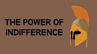 STOICISM | The Power Of Indifference (animated)