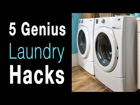 5 Laundry & Cleaning Hacks That Are Borderline Genius...