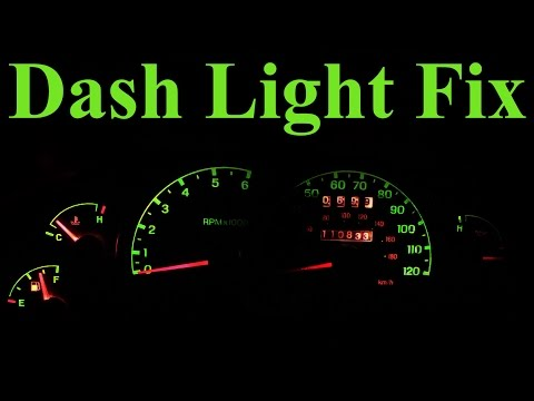 How to Replace Dashboard Lights (In Depth)