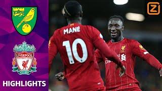 LIVERPOOL OP BEZOEK BIJ HEKKENSLUITER   Norwich vs Liverpool   Premier League 2019/20   Samenvatting