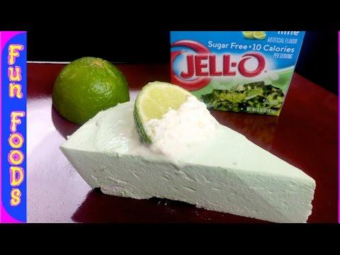 No Bake Key Lime Pie | Low Calorie Dessert