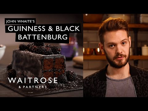 Love to Bake | John Whaite's Guinness and Black Battenburg | Waitrose