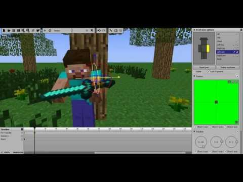 How to make Minecraft Animations With Mine-imator.