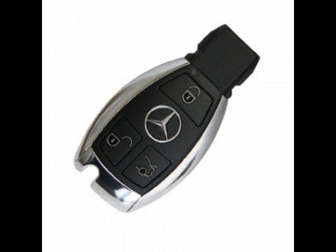 Mercedes w202 how to modify new key blade on the chrome smart key