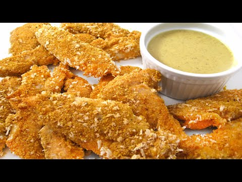 How to Make Honey and Cornflake Chicken Fingers
