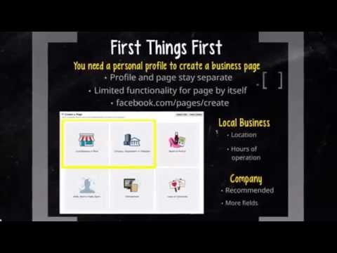 How to Setup your Facebook business page for real estate agents, step by step.