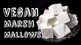 Vegan Marshmallows Recipe | Homemade Marshmallows Recipe | Homemade Vegan Marshmallows