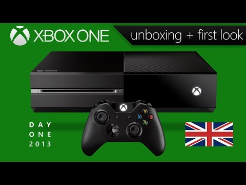 Xbox One Unboxing & First Look (Day One Edition - UK Version)