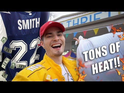 Trip to the Thrift #212 | HELLA HEAT IN DALLAS! Tommy, Nautica, Champion & More!