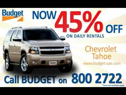 Budget Rent A Car - Tahoe