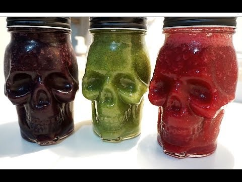 HALLOWEEN PARTY DRINK RECIPES (BY CRAZY HACKER)