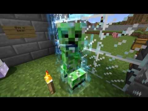Rare Super Charged Creeper Minecraft xbox360
