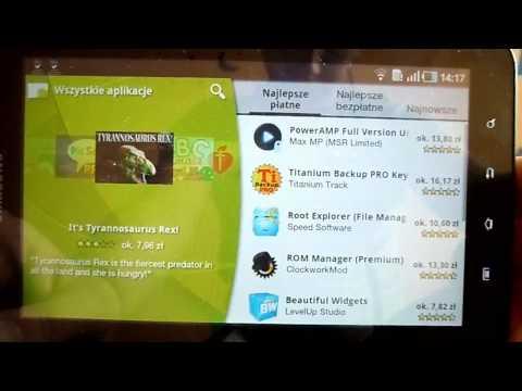 Android Market i Samsung Apps w Samsung Galaxy Tab. otabletach.pl