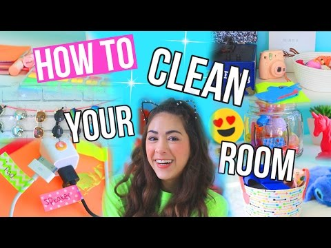 How to Clean + Organize Your Room FAST!