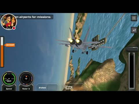 Flight Pilot Simulator 3D Episode 4 HD Gameplay On Android