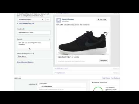 How to Create a Facebook Ad to Drive More Traffic to your BigCommerce Store